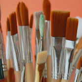 Hobby & Artist Paint Brushes