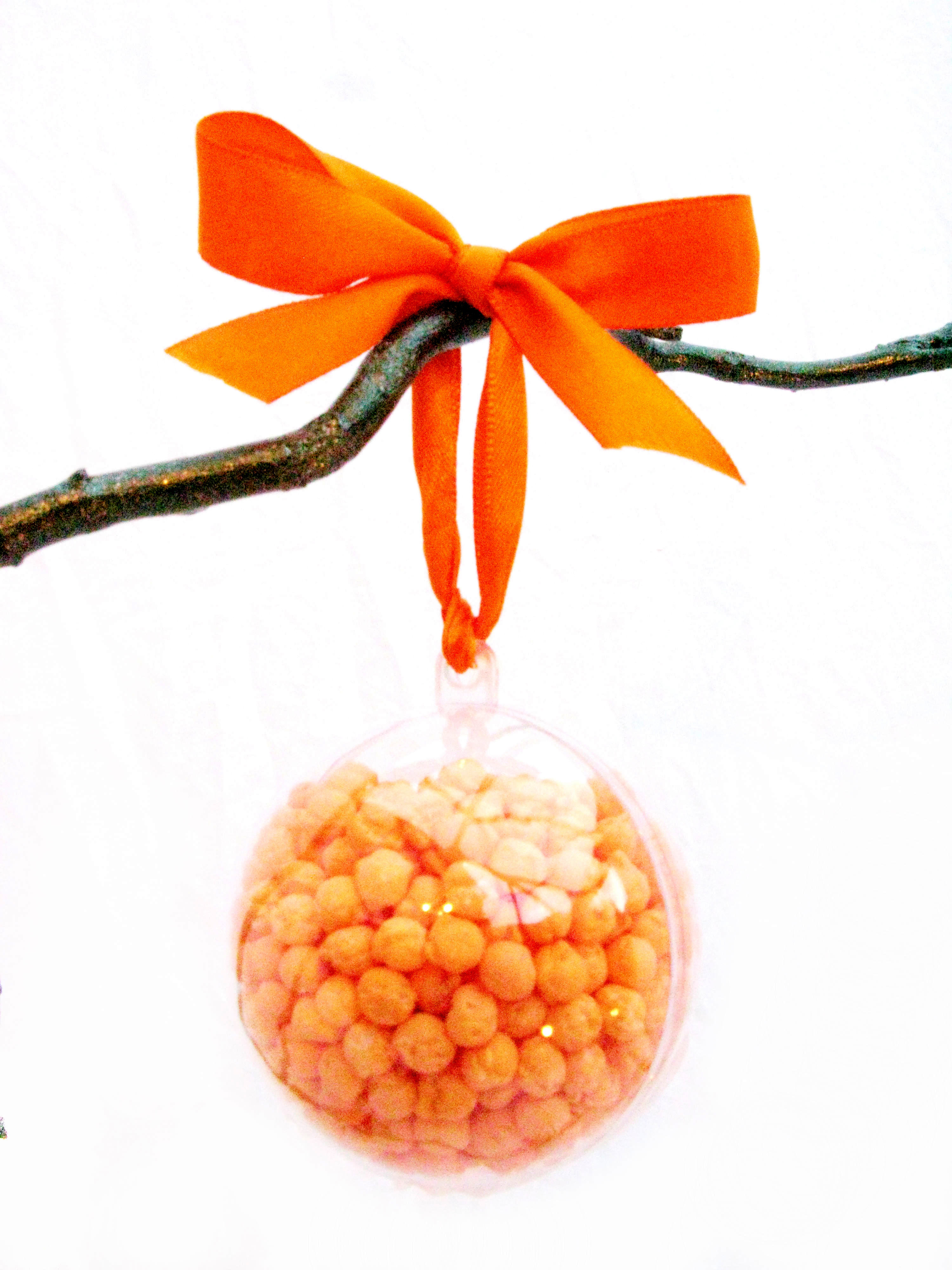 Clear Plastic 2-Part Gift Balls