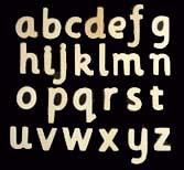 Plain Wooden 3-D Craft Letters & Words