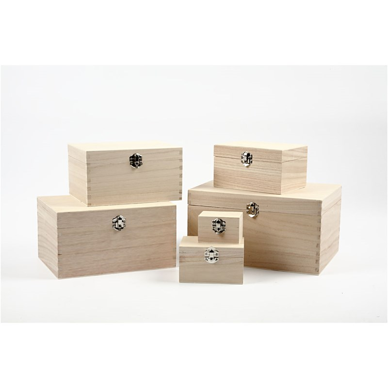 Discounted Wood & Papier Mache Boxes