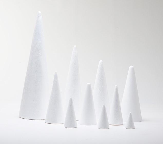 Craftmill Polystyrene Cones