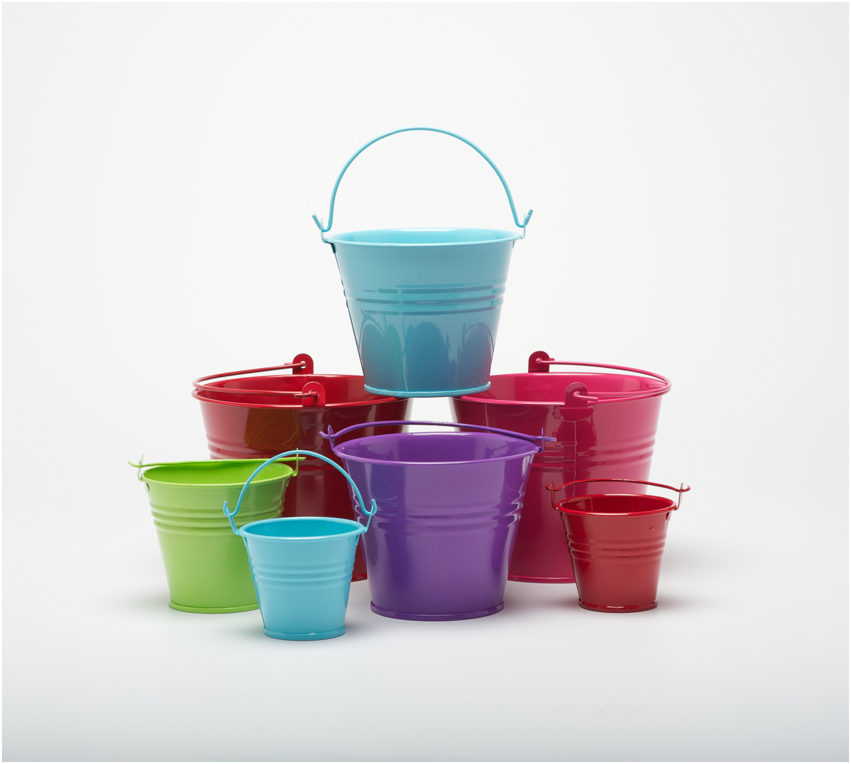 Image gallery mini buckets for Tiny metal buckets
