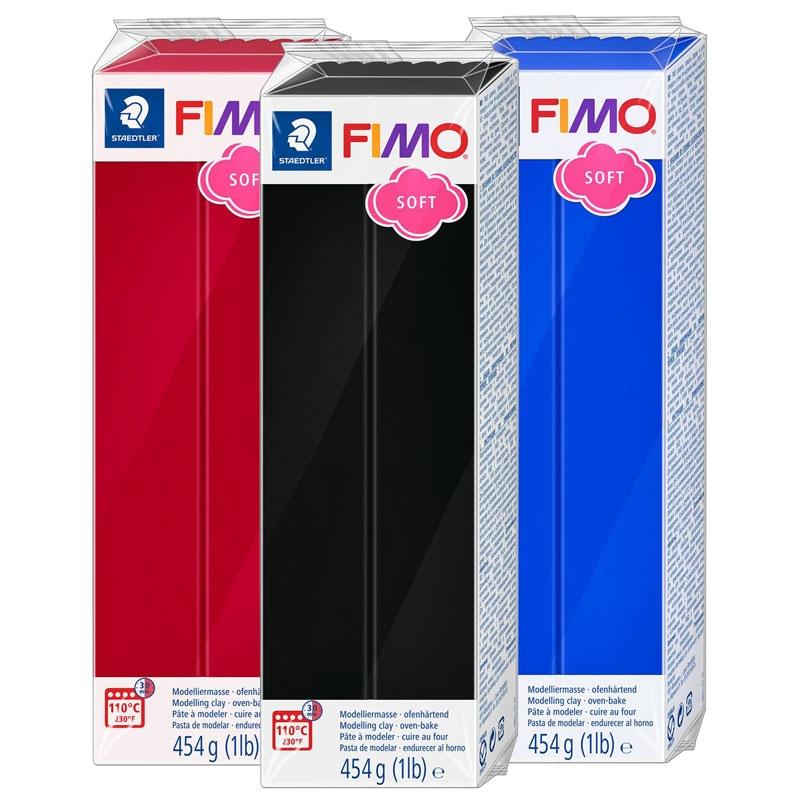 Fimo SOFT Extra Large Blocks - 454g