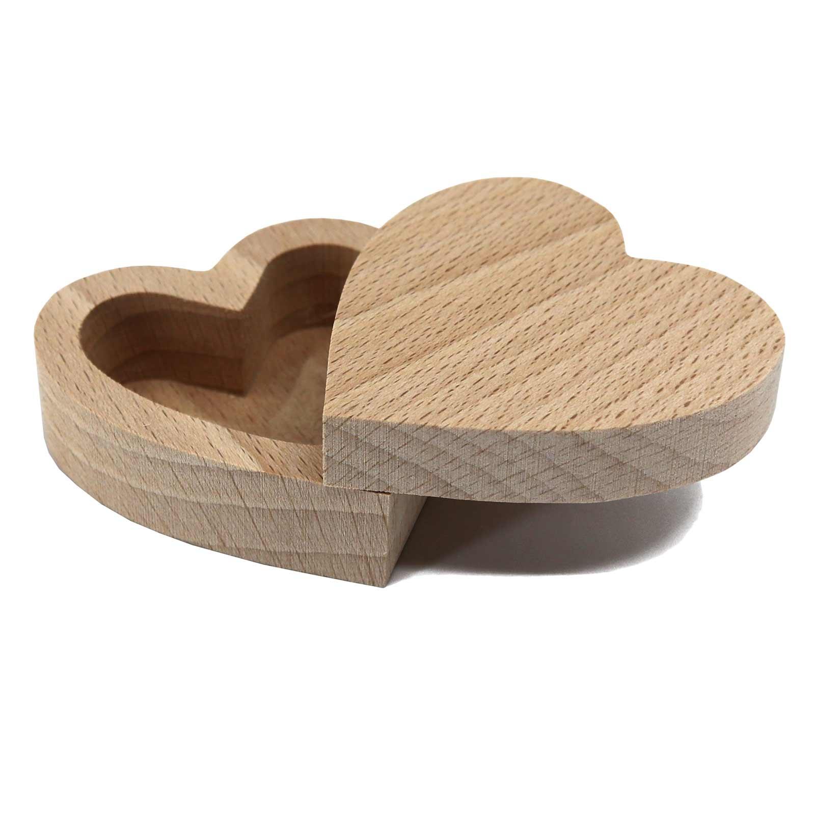 Plain Wood & MDF Trinket - Favour Boxes