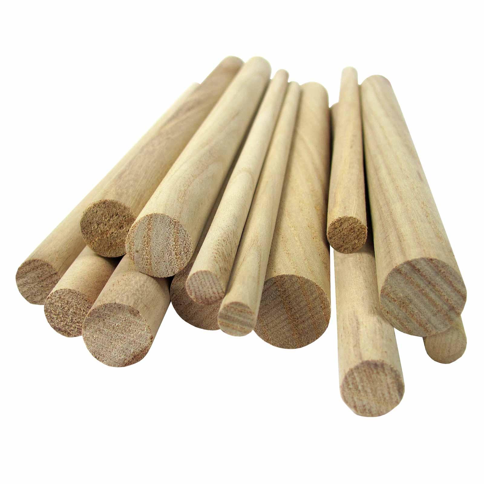 Wooden Craft DIY Dowels