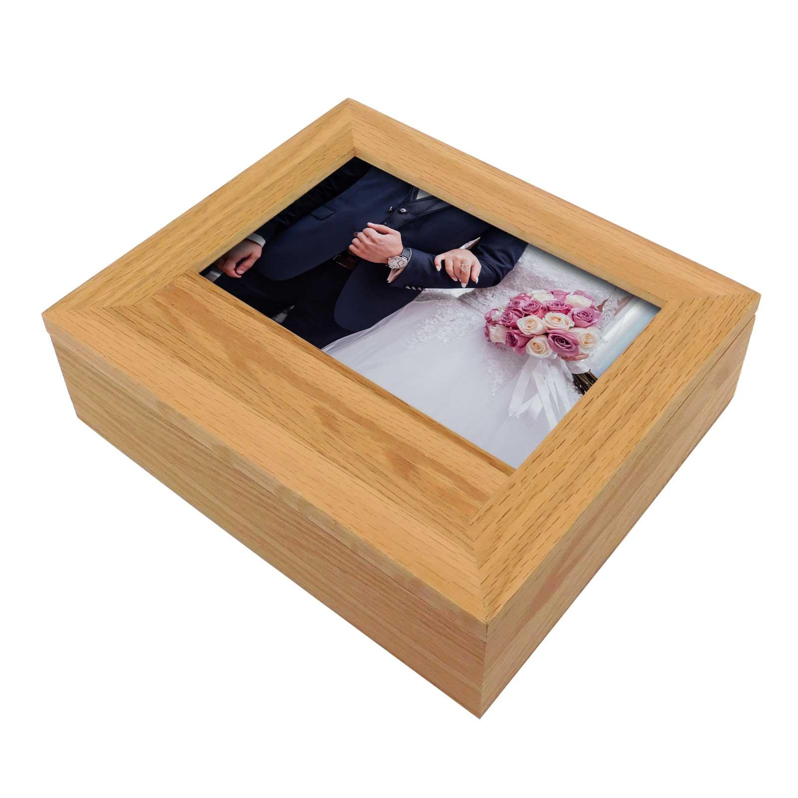Plain Photo Boxes & Frames