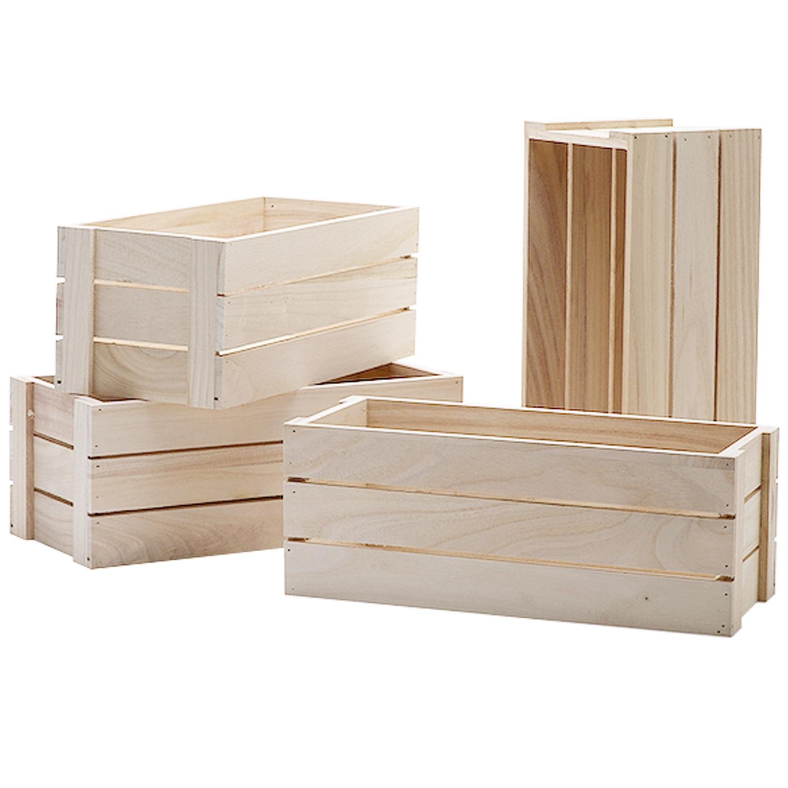Wooden Crates, Apple Boxes & Planters