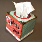 Plain Wooden Tissue Boxes