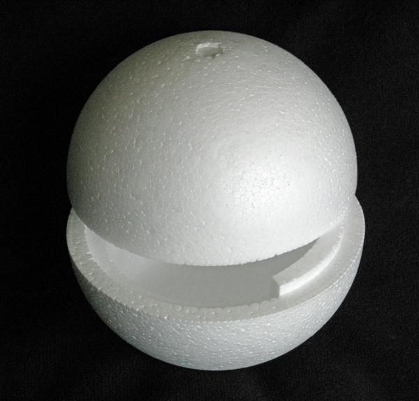 Large Hollow Polystyrene Balls
