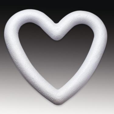 Polystyrene Heart Wreaths