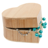 Wooden Jewellery or Makeup Boxes