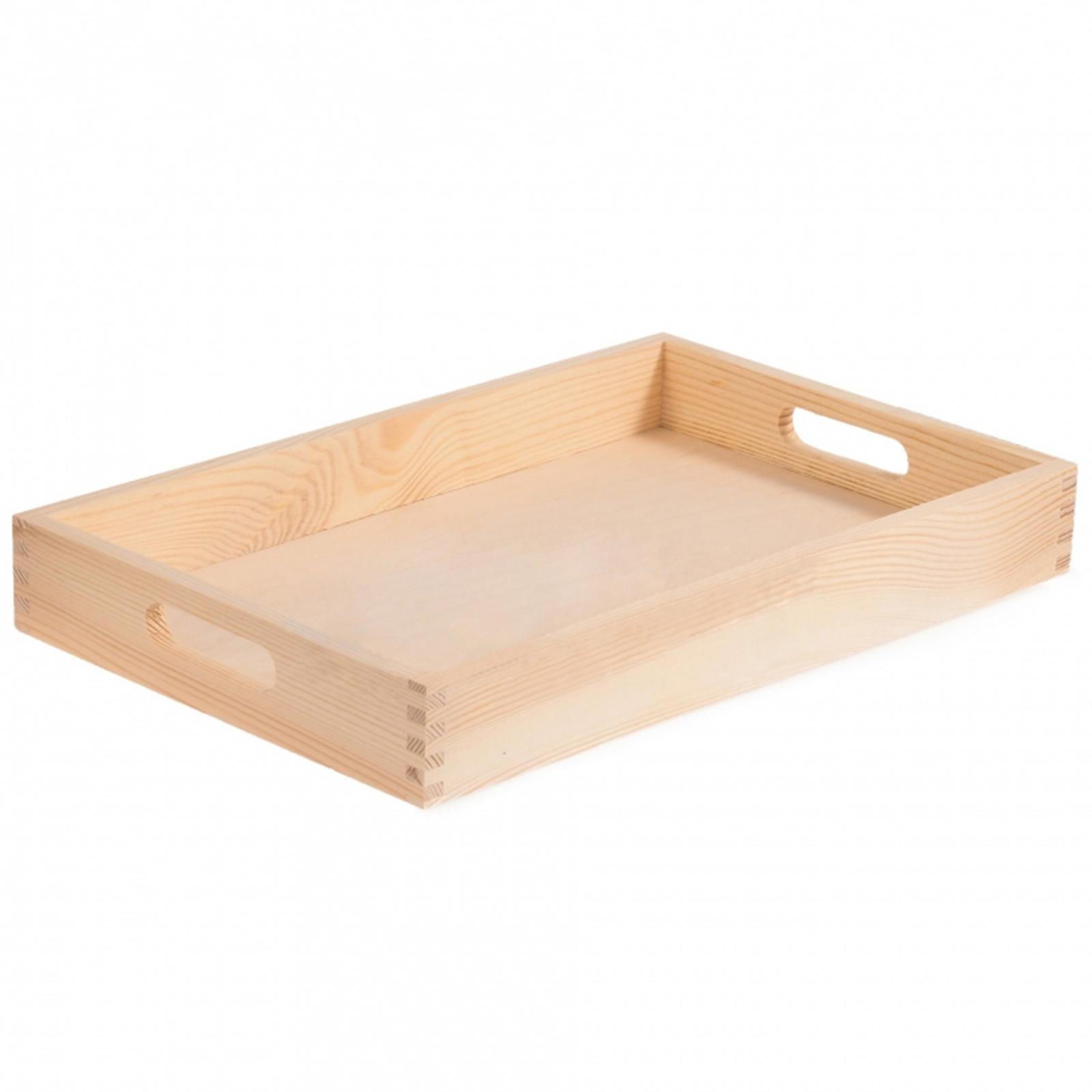Plain Wooden Trays