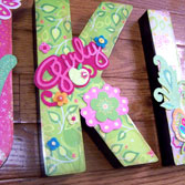 3D Craft Letters & Numbers